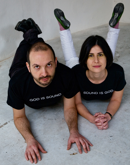 Gianpaolo D'Amico and Sara Lenzi. Photo by Nunzio Talamo.