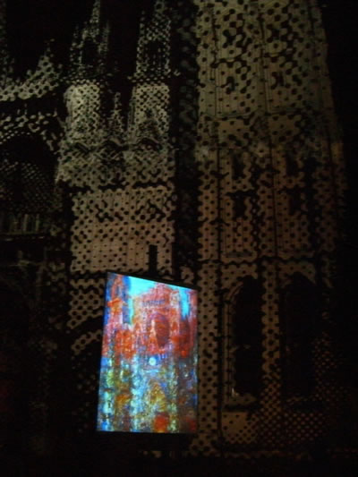 Cattedrale di Rouen e Moneta au Pixels