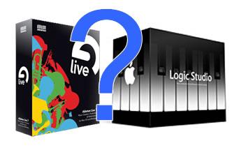 Ableton Live 7 e Logic Pro 8