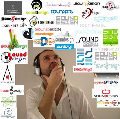 Gianpaolo e il logotipo di Soundesign