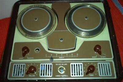 Magnetofono Geloso Anni '40