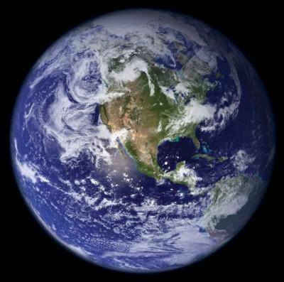 Terra dal satellite
