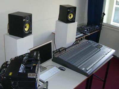 Aula 2 del corso di Sound design allo IED di Milano