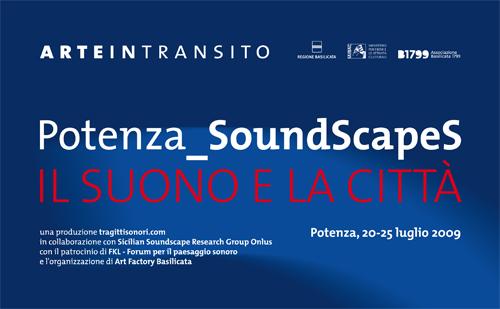 Locandina Potenza_Soundscapes