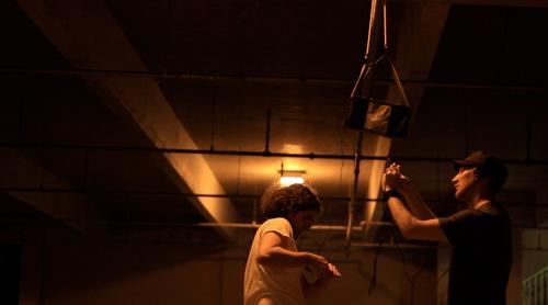HapticAudio parking garage session n.25