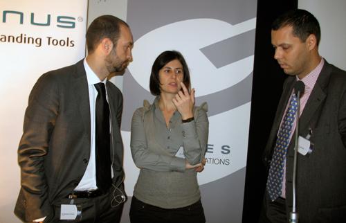 Gianpaolo D'Amico, Sara Lenzi and Jorge Seco. Photo by Arianna Ulian.