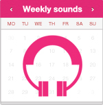 Weekly sounds