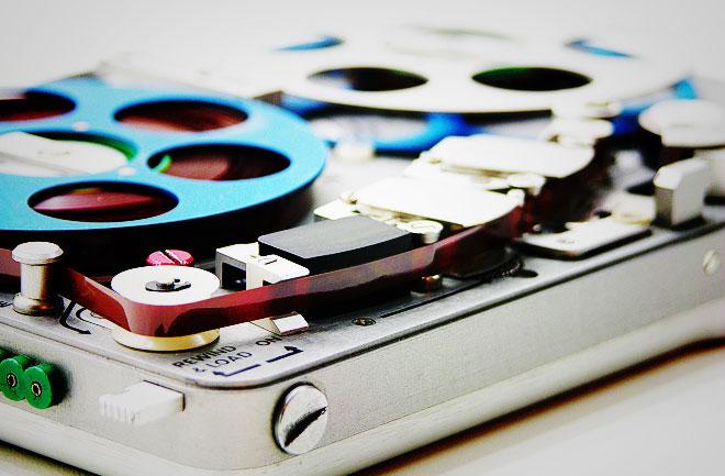 the Nagra portable sound recorder