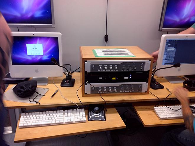 ADR control Room