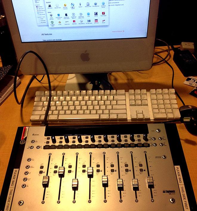 Euphonix mixer surface