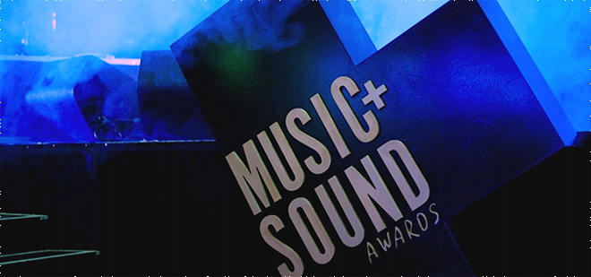 Music Sound awards logo