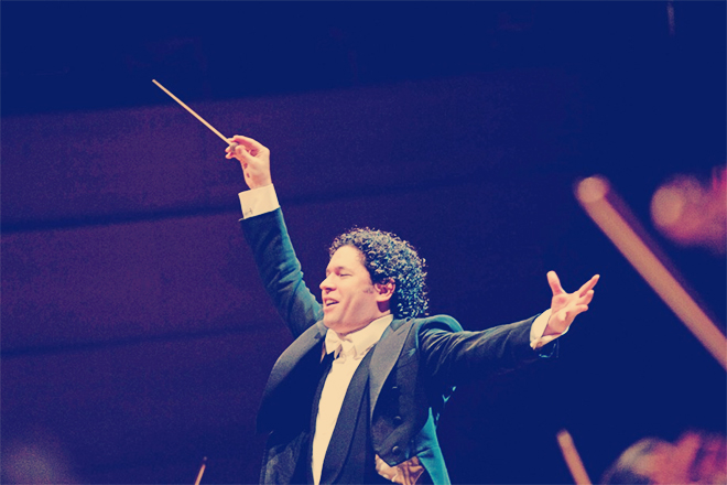 Gustavo Dudamel, LA Phil Music Director. Courtesy of the Los Angeles Philharmonic Association