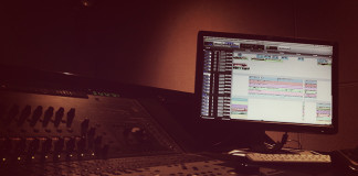 mixing session soundesign-vfs