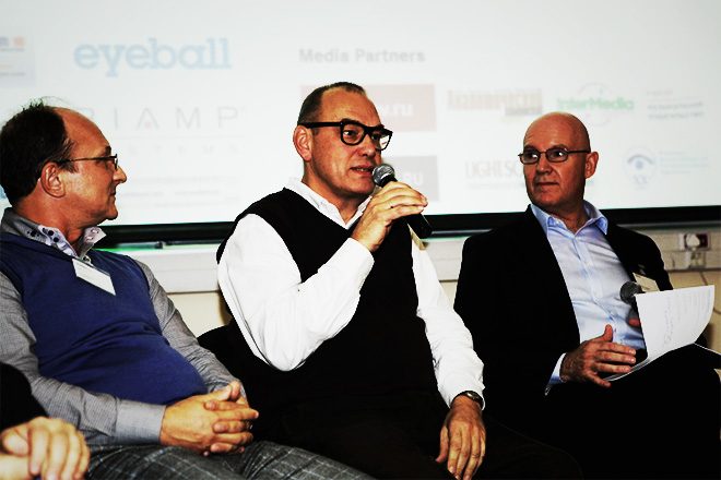 What's The Next Big Thing? panel discussion. Photo by Audio Branding Academy.