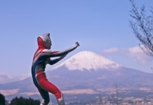 Ultraman + Mt. Fuji = JAPAN. Photo by Emran Kassim.