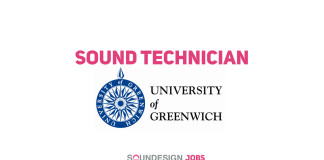 Sound Technician at University of Greenwich