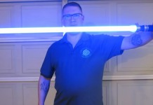 Hampton's Hand-crafted lightsabers